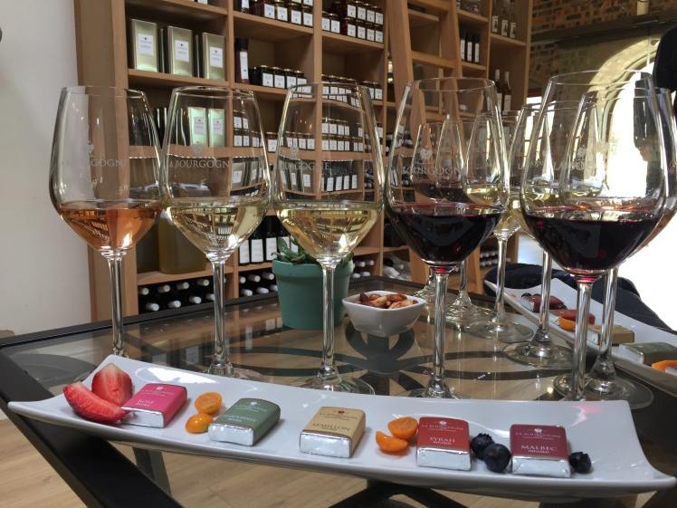 La Bourgogne Wine & Caramel Tasting