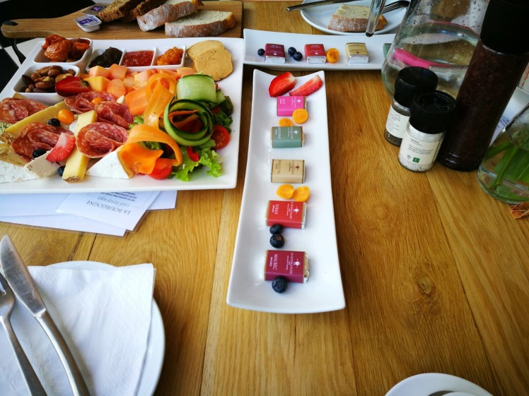 Just Some of the food in La Bourgogne