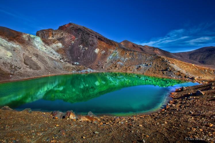 The Emerald Lake, Tongariro Alpine Crossing. Credits: The Planet D